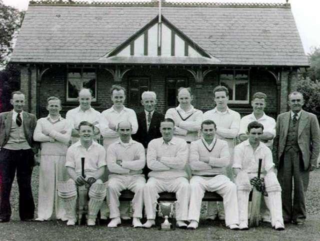 1954 - DCC Cup Winning Team