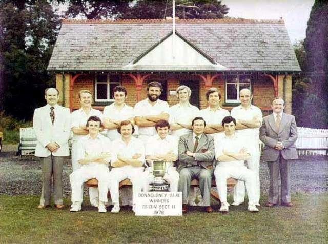 1978 - DCC Cup Winning Team