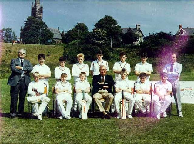 1988 - DCC Cup Winning Team